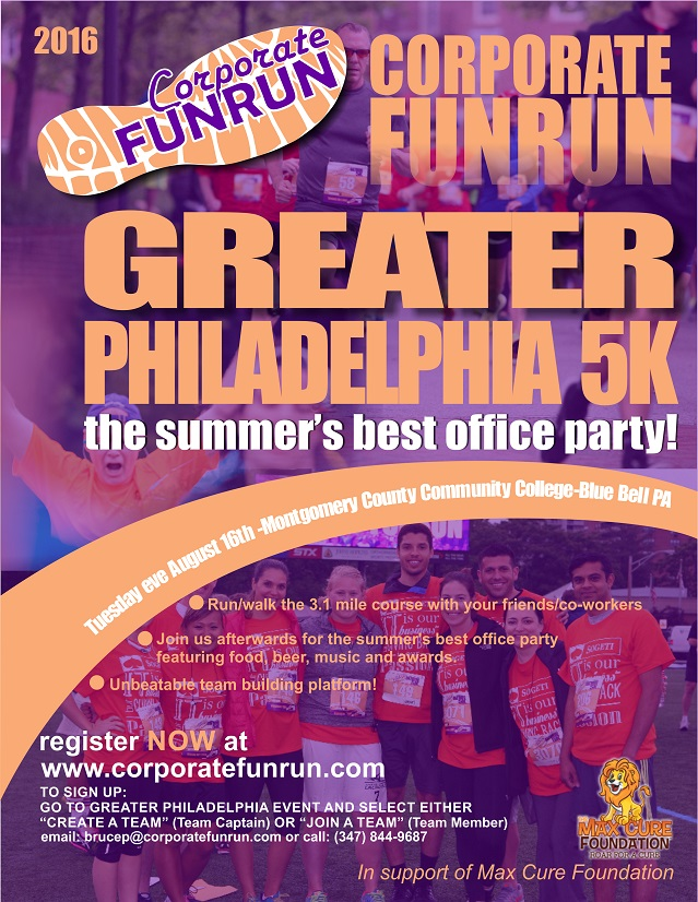 greater philadephia race flyer corporate funrun